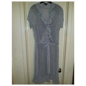 MSK Sheer Dress.